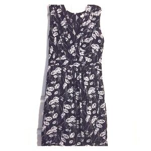 Banana Republic floral print dress- 10